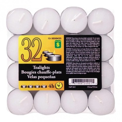 Candle Tealights 32 In A Pack