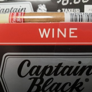 Captain Black Tipped Cigars – Wine – Singles