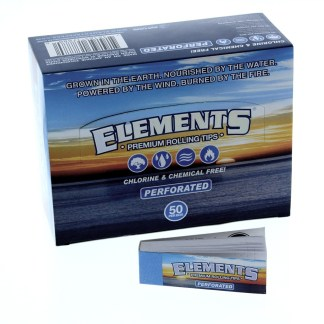 ELEMENTS PERFORATED TIPS, PACK/50