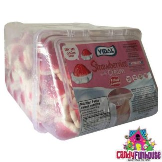 Vidal Strawberry With Cream Gummy