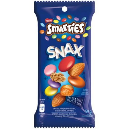 Smarties Sweet And Salty Snax 50g