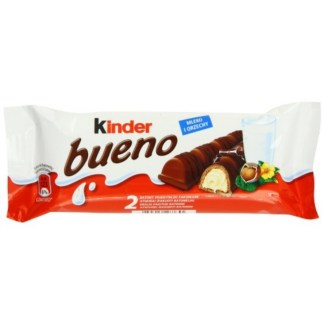 Kinder Bueno With Milky Hazelnut Filling 43gram
