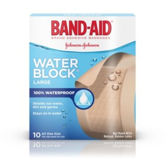 Band-Aid Water Block 10 All One Size
