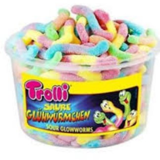 Irresistibles Sour Gummy Worms