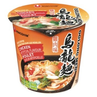 Nongshim Oolong Men Chicken Soup Cup 75 Gram