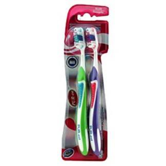 Pur-est Toothbrush Pack Of 2