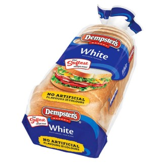 Dempsters Bakery Slice Bread White