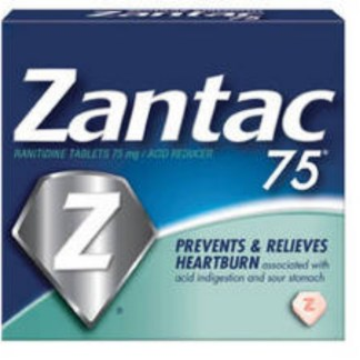 Zantac Ranitidine Tablets 75mg