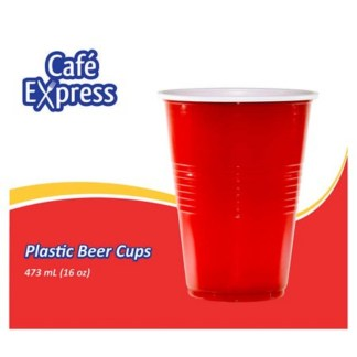 Cafe Express Plastic Beer Cups