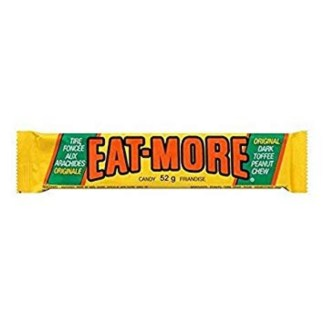 Eat More Candy Bar 52 Gram