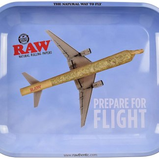 RAW FLYING HIGH ROLLING TRAY TIN LARGE