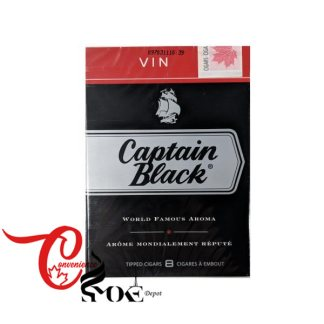 CAPTAIN BLACK VIN – 8 Cigars per Pack