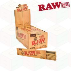 Raw Classic Lean Size Pre Rolled Cones – 20 Cones Per Pack – 1 Pack