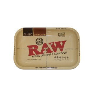 "RAW ROLLING TRAY TIN XXL 20"" x 15 """