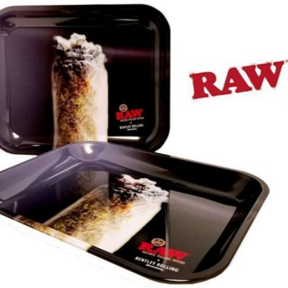 Raw Bentley Rolling Tray Large