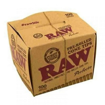 Raw Perfecto Conical Tips 100 Per Pack