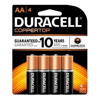 Duracell Battery AA 4 Pack