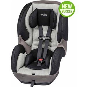 Evenflo SureRide DLX Convertible Car Seat, Paxton Review
