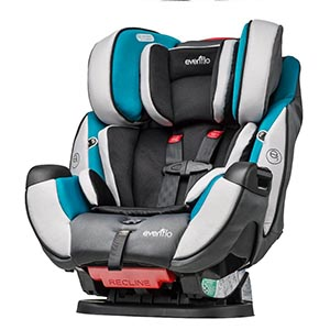 Evenflo Symphony DLX All-In-One Convertible Car Seat, Modesto Review