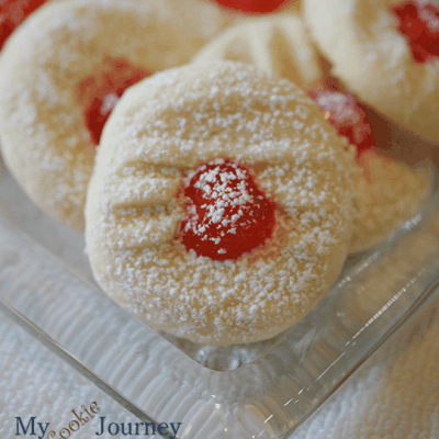whipped-shortbread cookie