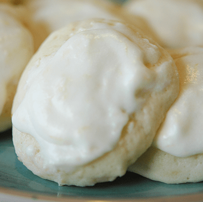 Perfect Glazed Lemon Cookies
