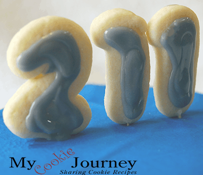 National 211 Day Cookies