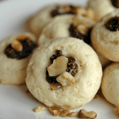 Ricotta Fig and Honey Cookies