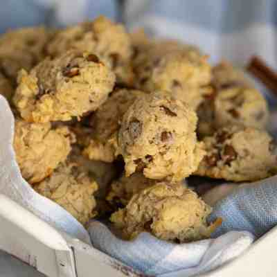 Cinnamon Chips with Coconut Almond Cookies