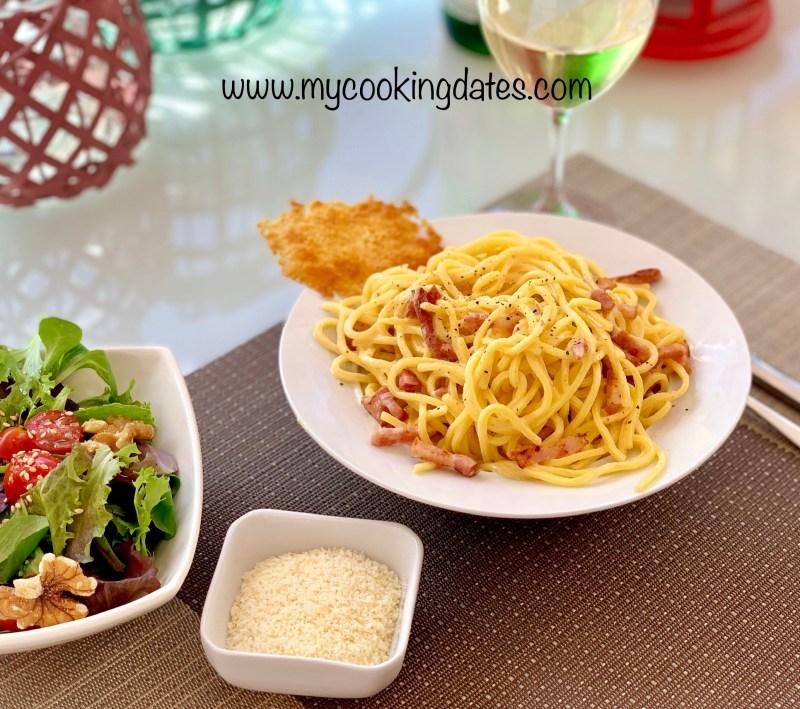 Espaguettis a la Carbonara
