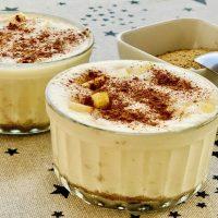 Mousse de Manzana con leche condensada