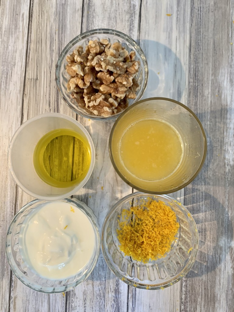 Ingredientes Bizcocho de naranja