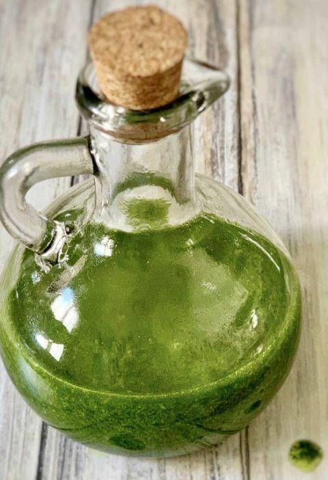 Aceite de Albahaca Casera