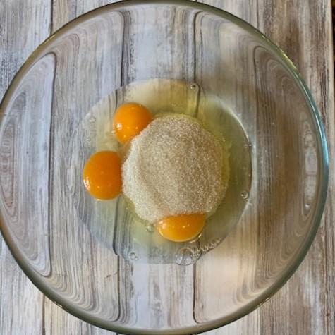 Azúcar y huevos