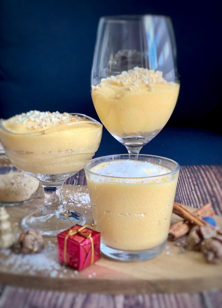 Vasitos de Mousse de Mango