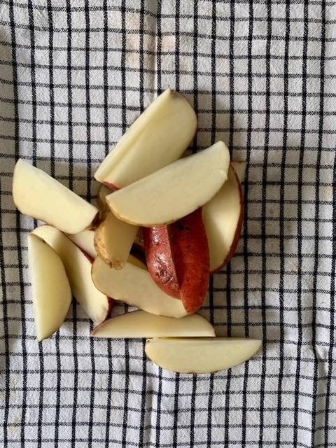 Secar las patatas