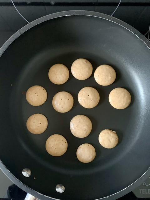 Hacemos Mini pancakes
