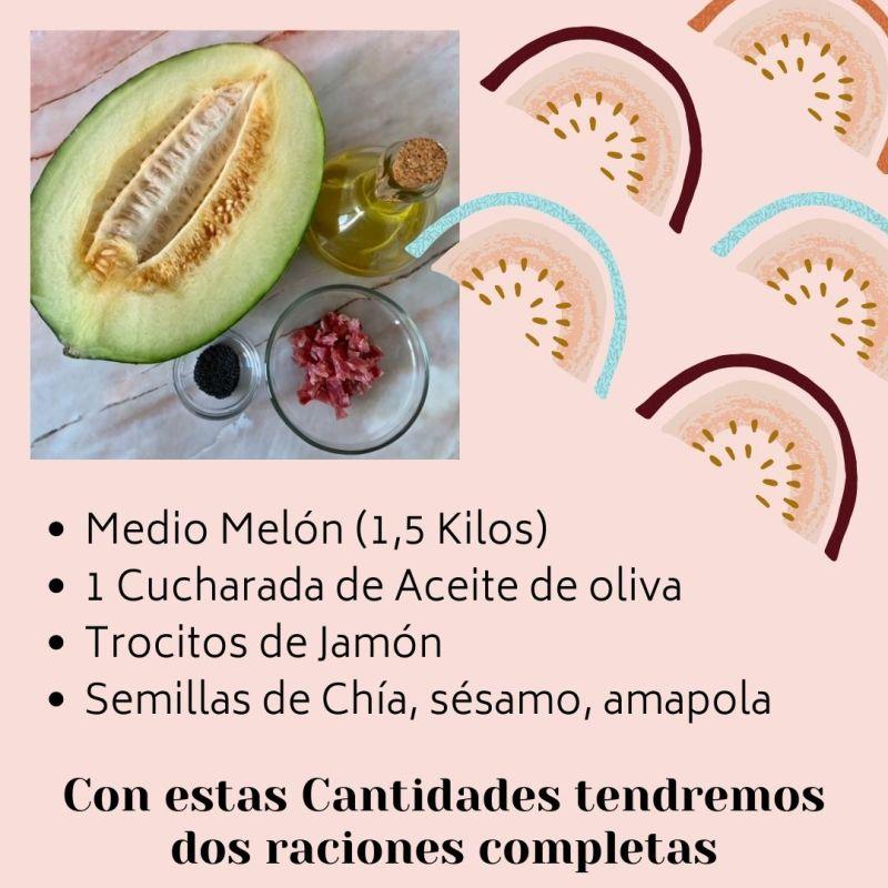 Ingredientes Sopa de Melón