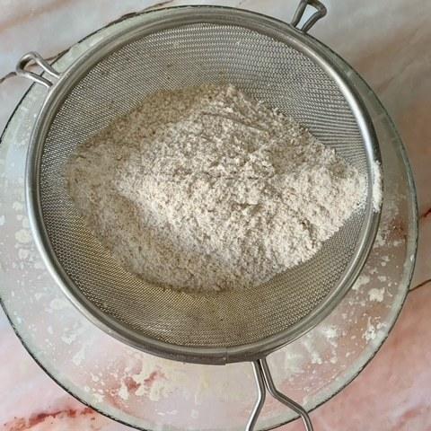 Tamizamos la harina