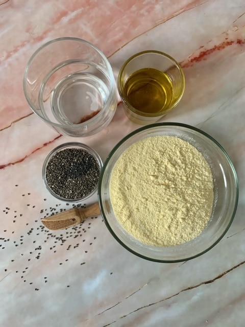 Ingredientes Nachos Caseros al horno