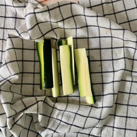 Teneos que secar bien nuestro Calabacines