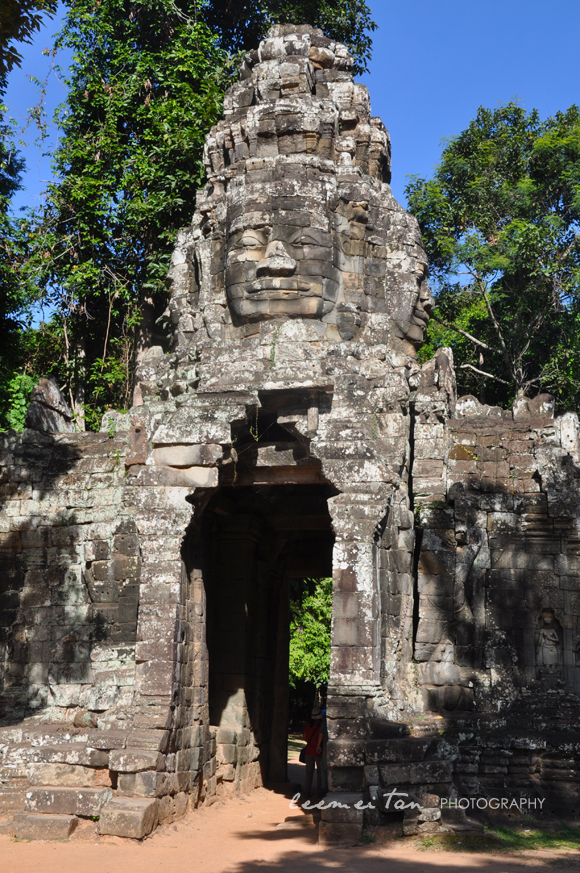 banteay-entrance