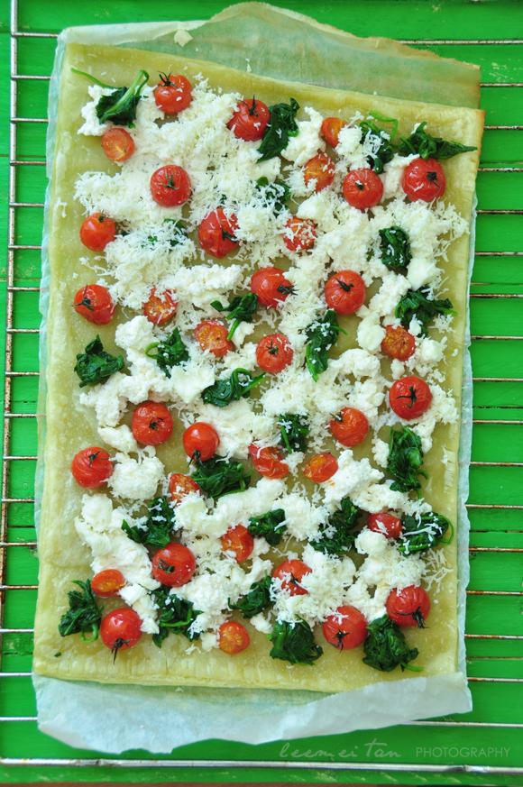 spinach-tomato-cheese-tart