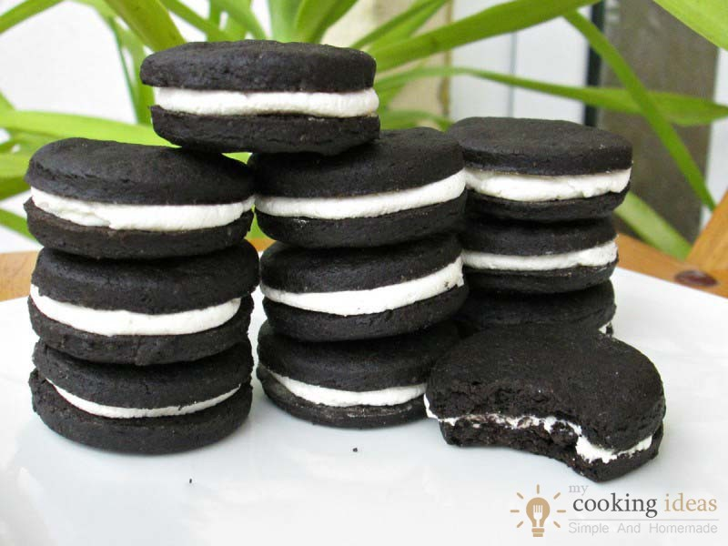 How To Make Homemade Oreo Cookies