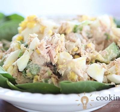One Different Kind Of Tuna Salad