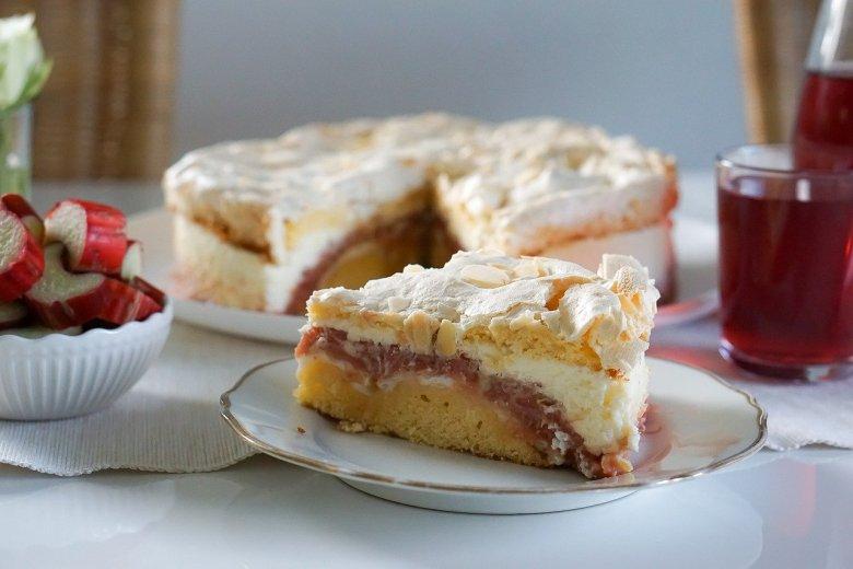 rhubarb crumble cake mary berry