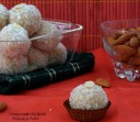 Almond coconut laddoo