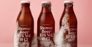 beer - Cerveza y ducha? Por qué no?