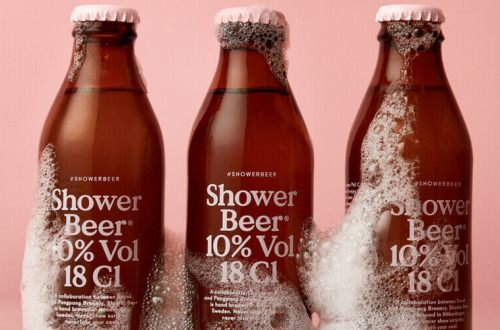 Cerveza y ducha? Por qué no?