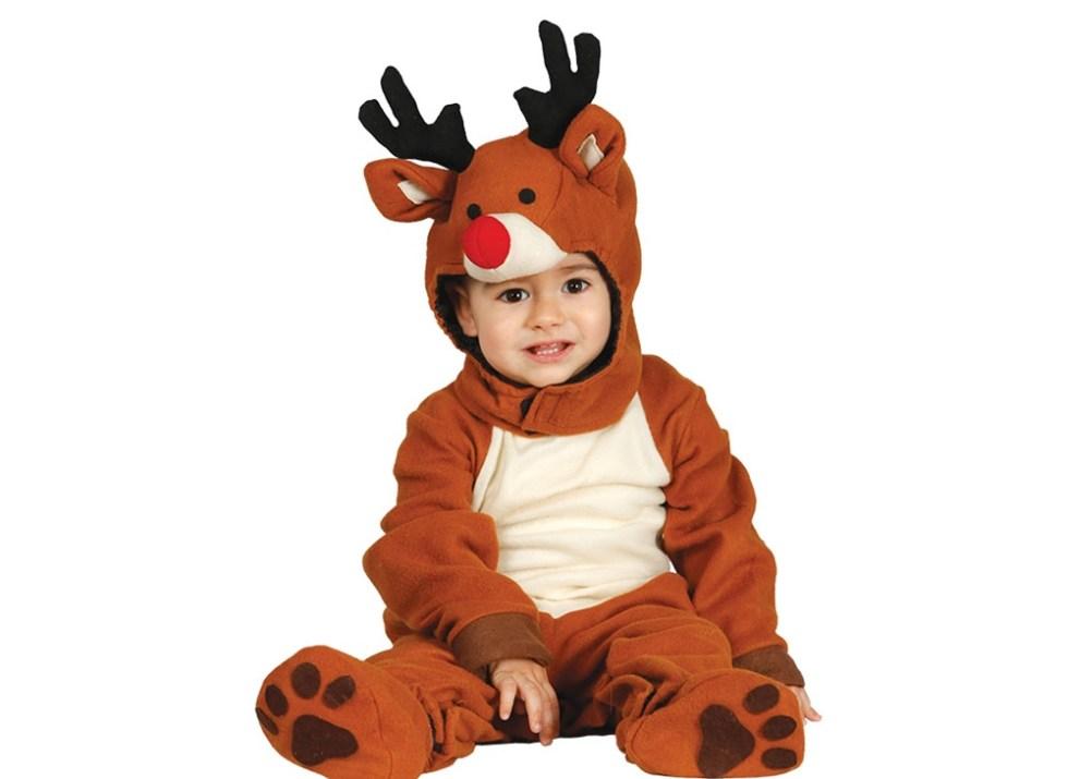 El mejor disfraz de navidad para tu bebé