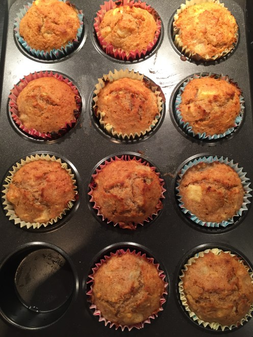 Healthy Apple Muffins 1
